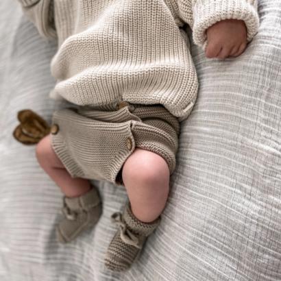 pletené topánočky