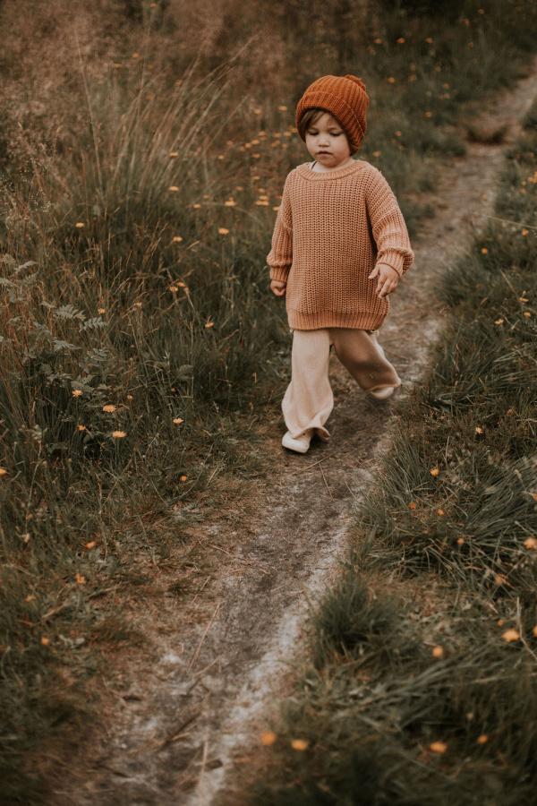 detský pletený sveter