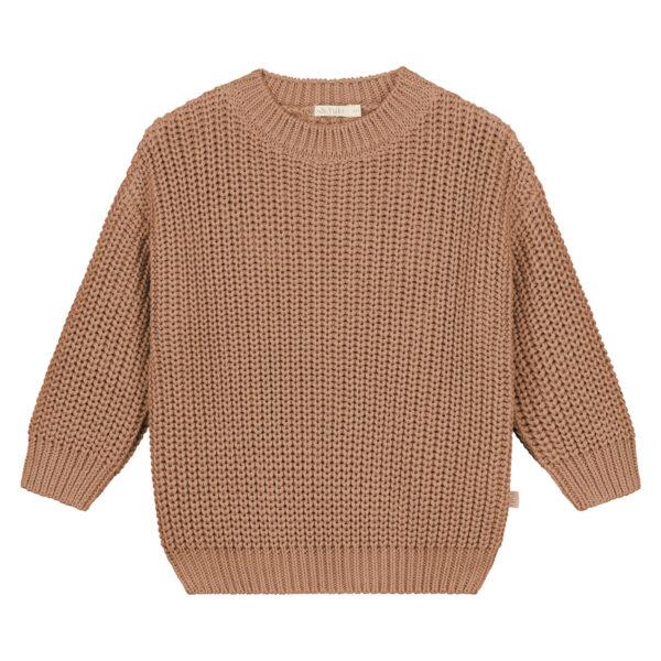 pletený chunky oversize sveter