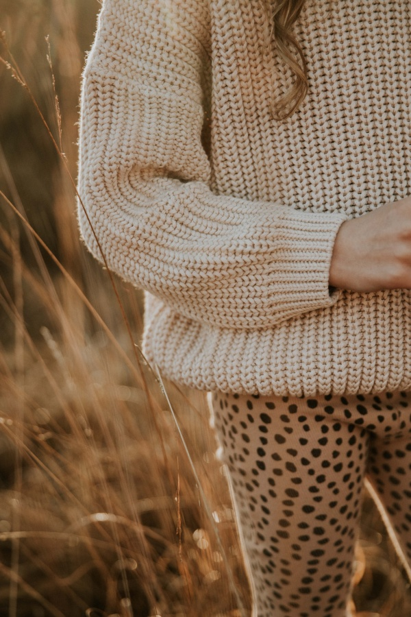 pletený sveter pre deti