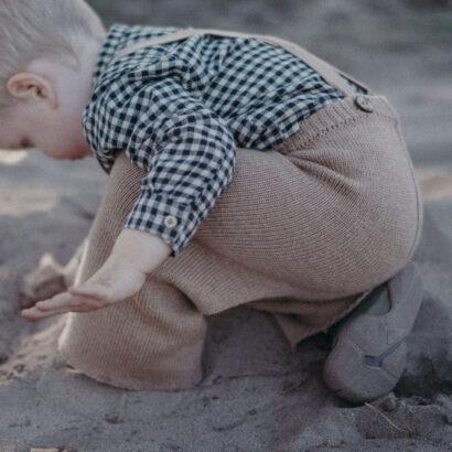 pletené nohavice ptrs knitwear