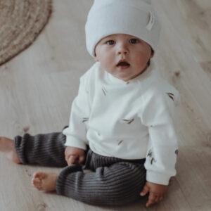 detská pletená čiapka
